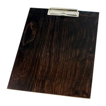 Drewniany clipboard A4 (brąz)