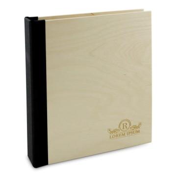 Drewniany segregator A5 – 50 kartek (lakierowany)