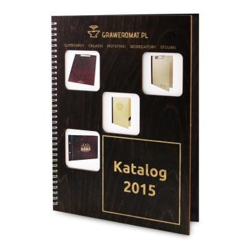 Katalog Graweromat.pl w drewnianej okładce