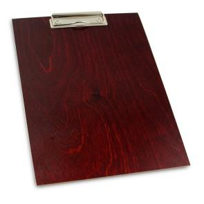 Drewniany clipboard A4 (mahoń)