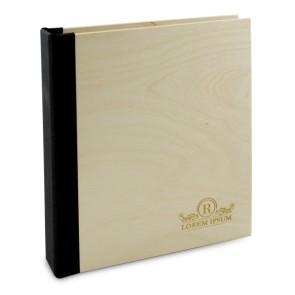 Drewniany segregator A5 – 100 kartek (lakierowany)