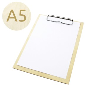 Drewniany clipboard A5 (surowy)