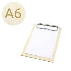 Drewniany clipboard A6 (surowy)