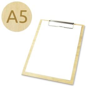 Drewniany clipboard A5 (lakierowany)