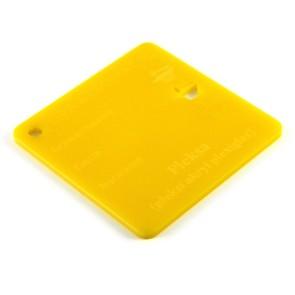 Pleksa jasnożółta 3 mm